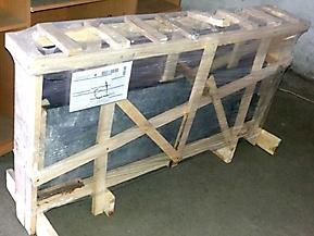 Упаковка гранитных подоконников