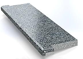 Подоконник из гранита Покостовка (серый)